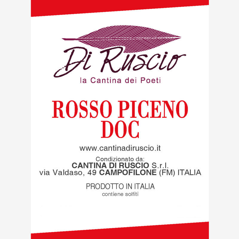 bag in box rosso piceno doc