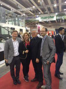 Fulvia Tombolini, suo figlio Carlo, Mario e Mario Di ruscio