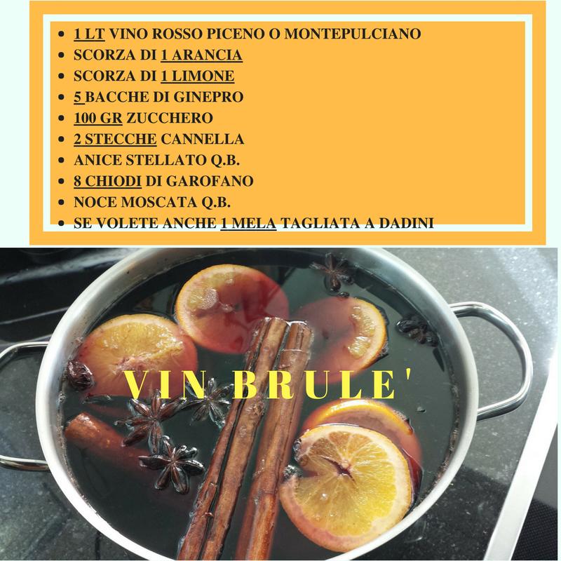 ricetta vin brulé
